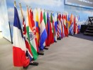 The Parade of Flags highlighting every country where there is a Lions Club.