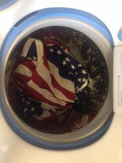Flags in the Washer