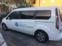 The Georgia Lions Lighthouse Foundation van.