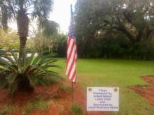 Flags in the Historic District
