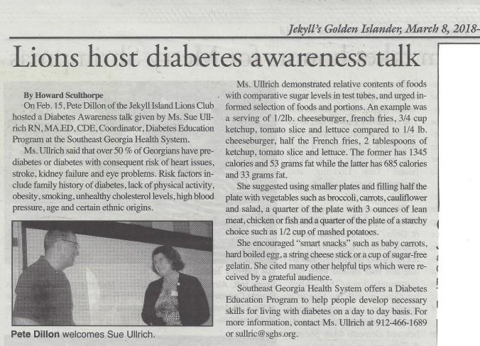 Diabetes Talk